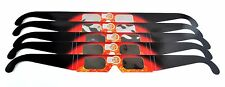 Eclipse Shades 5 pack - Solar Eclipse 2017 viewing glasses - Made in the USA!