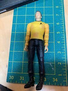 Star Trek TOS Battle Ravaged Kirk Action Figure Art Asylum Loose