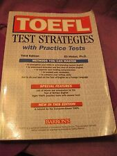 TOEFL Test Strategies with Practice Tests by Eli Hinkel (2004)
