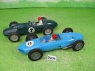 vintage clifford & marx hong kong friction racing cars x2 plastic models 3006
