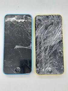 Apple iPhone 5c - 8GB - Blue (Unlocked) *Check IMEI* *Lot of 2*