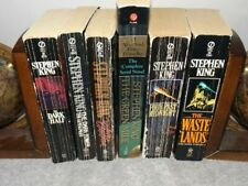 Stephen King - Mixed Lot (6) - Mystery Novels - Paperback - Used Condition