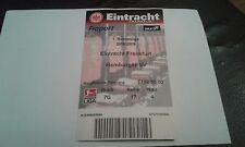 Ticket  Eintracht Frankfurt - HSV, Sammelkarte, Hamburger SV, Ultras, SGE