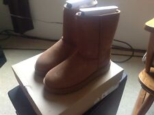 ladies size 7 ugg boots chestnut new