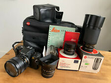 New listing  Lot of Leica R5 Slr camera, Leitz 24mm wide angle, 50mm, 35-70mm, 70-210mm Lens