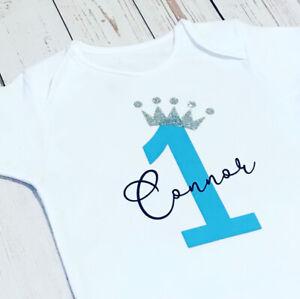 Personalised My First Birthday Baby Vest, Girls/Boys, Party, Celebration