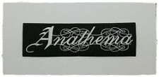 Anathema Iron Sew On Patch Embroider Rock Band Heavy Metal Badge Music Free Ship