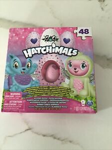 HATCHIMALS Jigsaw PUZZLE Mystery Includes Exclusive Figure Spin Master 48 Piece