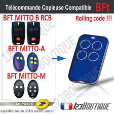 TELECOMMANDE Compatible BFT MITTO / B RCB2 RCB4 / 2A 4A / 2M 4M Bip portail