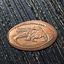 Columbus Zoo & Ppg Aquarium Lizard Smashed pressed elongated penny P3797