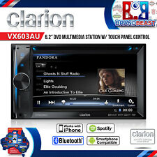 Clarion VX603AU DVD Multimedia Station With 6.2-inch Touch Panel