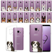 """For Samsung Galaxy S9 5.8"""" Animal Design Clear Tpu Soft Gel Case Phone Cover"""