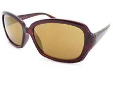 Harley Davidson Mujer Marrón Pedrería Gafas de Sol / Cristal Dorado Lentes
