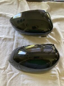 Genuine Fiat 500 Side Mirror Covers Black