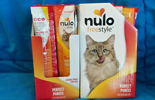 Case of 48 Nulo Freestyle Perfect Purees Grain Free Lickable Cat Treats Chicken