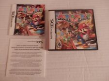 Nintendo Mario Party DS CASE, INSERT & MANUAL ONLY-NO GAME-Free Shipping