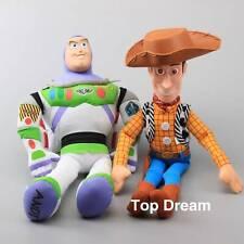 JUMBO Toy Story 22'' WOODY & 20'' BUZZ Lightyear Plush Doll Stuffed Toy Cute