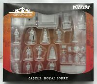 WizKids 90096 Castle Royal Court (Deep Cuts) Towns People Townsfolk Miniatures