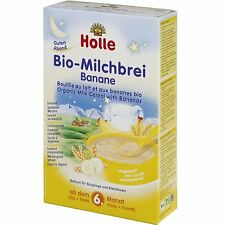 HOLLE Organic Milk Cereal with Bananas From 6 Months 250 g 8.8 oz