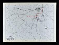 1823 WV MAP Williamson Lewisburg Petersburg Thomas West Virginia History    HUGE