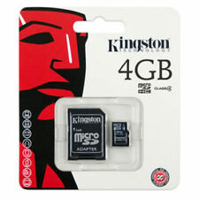 Kingston SDHC 4 GB Memory Card