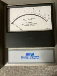 Bird thruline RF wattmeter 6810-309-7