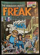 1971 Furry Freak Brothers Comic Book By Gilbert Shelton Issue #1 First Printing