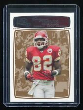 2008 Topps Rookie Progression Bronze #39 Dwayne Bowe (Chiefs) #'d 010/389