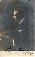 Mattia BATTISTINI (Bariton): Signed Photo w/ Brochure!