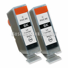 2 Black PGI-5 Ink Tank Compaible for Canon Pixma MX850 iP4200 iP6600D Printer