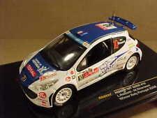 1/43 Ixo #RAM331 Diecast Peugeot 207 S2000, Winner '08 Portugal