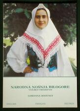 BOOK Croatia Folk Costume embroidery pattern BILOGORA Balkan clothing Slavic art