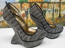 Steve Madden Gossip Studded Wedges Pumps Heels - Size 7.5
