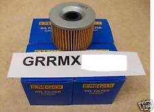 4 New Emgo Oil Filters For The 1986-2002 Kawasaki ZG 1200 Voyager ZG1200 XII