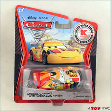 Disney Pixar Cars 2 Miguel Camino with Metallic Finish Silver Racer Series Kmart