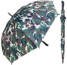 "60"" Camouflage Umbrella - RainStoppers Rain/Sun UV Camo Hunting Camping"