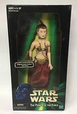 Star Wars The Power Of The Force Princess Leia with Chain 12 inch figure Hasbro
