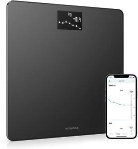 Withings Body – WLAN-Smart-Waage mit BMI-Funktion, digitale Personenwaage, App