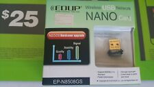 New EDUP EP-N8508GS Mini 150Mbps Wireless 802.11N USB Network NANO Card Adapter