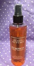 "Bath & Body Works THE PERFECT AUTUMN ""PUMPKIN"" Body Splash - 8 oz. Rare HTF"