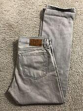 RRL Mens Slim Jeans 34 x 31 Gray Denim Ralph Lauren Pants Y