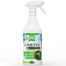 Eco Defense Organic Home Pest Control Spray - Kills & Repels, Ants, Roaches, Spi