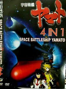DVD Space Battleship Yamato Movie (Celestial Ark,VoyageToRemember,Rebirth,Final)