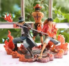 Action Figure One Piece Luffy Sabo e Ace BANPRESTO