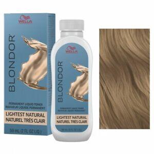 Wella Professionals Blondor Toner /03 Lightest Natural, 2 oz