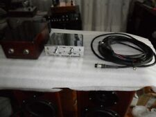 ESOTERIC AUDIO FOUR CHANNELS CAR TUBE PREAMPLIFIER. PREAMPLIFICATORE VALVOLARE