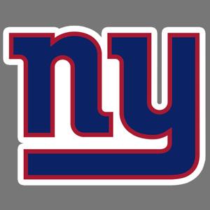 New York Giants NY NFL Car Truck Window Decal Sticker Football Laptop Wall