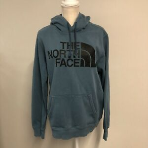 The North Face Hoodie Women's Medium Blue Half Dome Pullover Hooded Sweatshirt