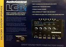 NEW Audio Control LC8i 8-Channel Line Output Converter w/ Aux Input, BLACK