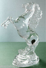 Waterford Crystal Rearing Horse Animal Kingdom Collection Made in Slovenia New